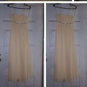 David's Bridal Chiffon Prom Dress